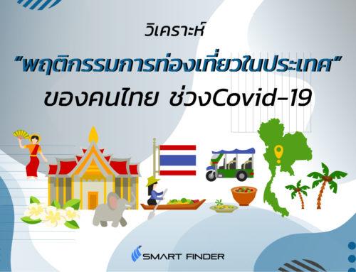 วิเคราะห์พฤติกรรมการท่องเที่ยวภายในประเทศของคนไทย ช่วงCovid-19
